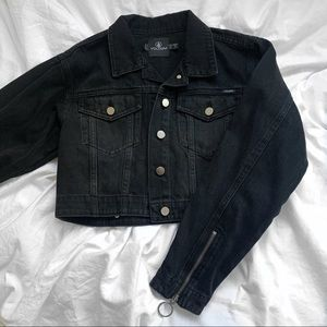 Volcom Cropped Denim Jacket